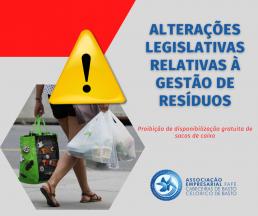 Proibição de disponibilização gratuita de sacos de caixa